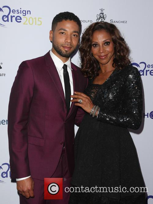 Jussie Smollett and Holly Robinson Peete 8