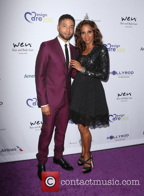 Jussie Smollett and Holly Robinson Peete 9