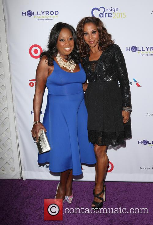 Star Jones and Holly Robinson Peete 2