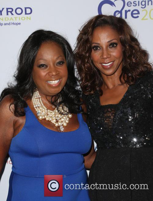Star Jones and Holly Robinson Peete 3