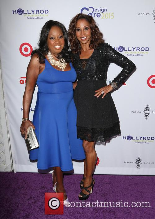 Star Jones and Holly Robinson Peete 4