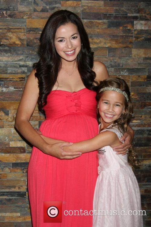 General Hospital, Teresa Castillo and Brooklyn Rae Silzer 1