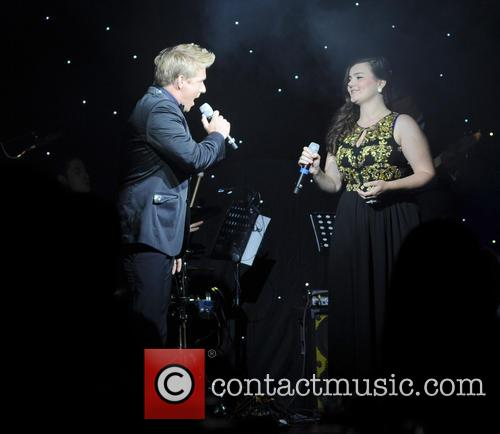 Jonathan Ansell and Charlotte Jaconelli