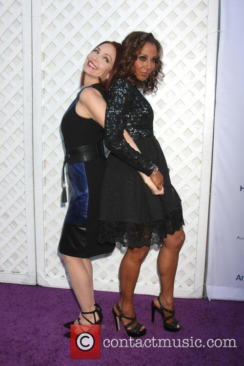 Amy Yasbeck and Holly Robinson Peete 1