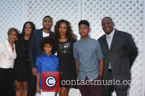 Delores Robinson, Holly Robinson Peete and Rodney Peete 1