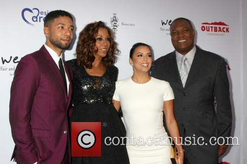 Jussie Smollett, Holly Robinson Peete, Eva Longoria and Rodney Peete 1