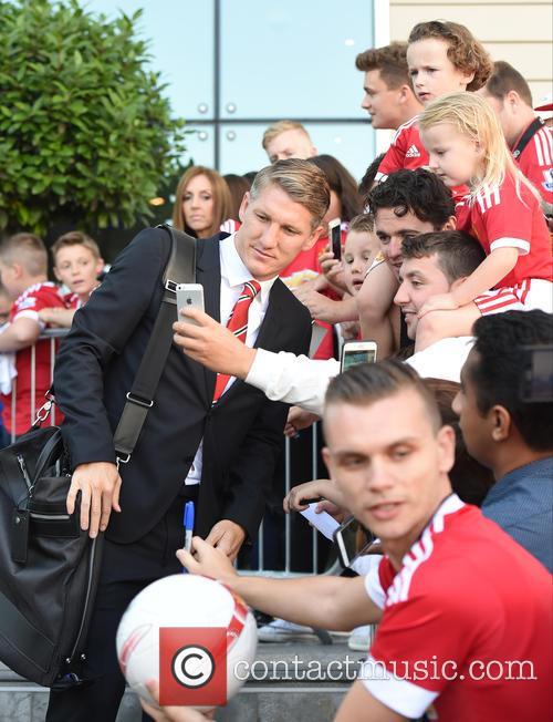 Manchester United and Bastian Schweinsteiger 8