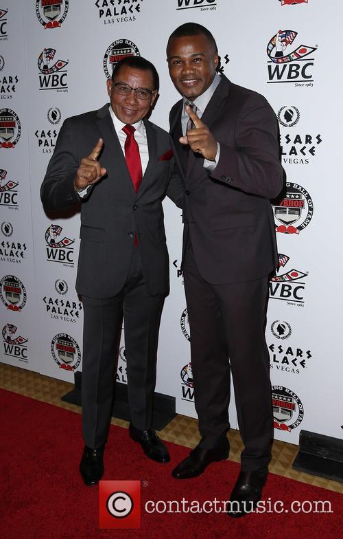 Felix Trinidad Sr and Felix Tito Trinidad 2