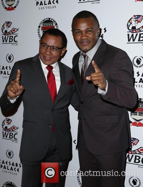 Felix Trinidad Sr and Felix Tito Trinidad 1