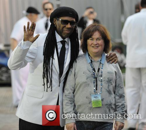 Nile Rodgers and Susan Boyle 2