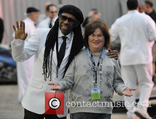 Nile Rodgers and Susan Boyle 3
