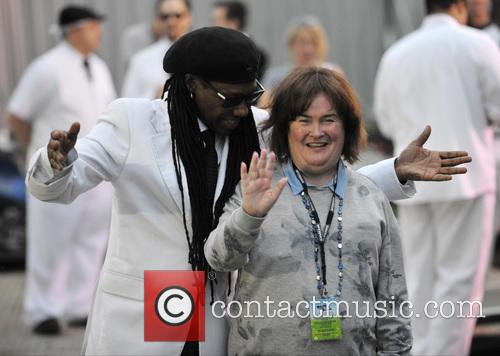Nile Rodgers and Susan Boyle 1