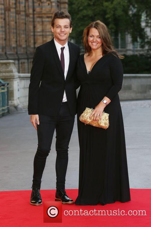 Louis Tomlinson and Mother Johannah Deakin 2