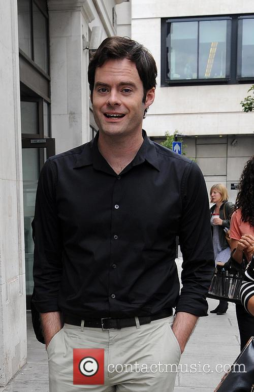 Bill Hader arrives at BBC Radio