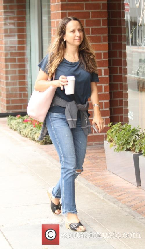 Jennifer Meyer goes shopping in Beverly Hills