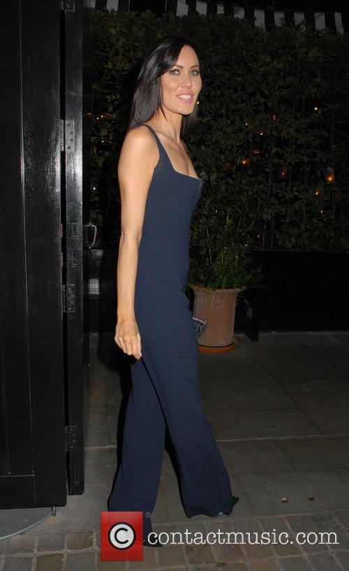Linzi Stoppard at the Chiltern Firehouse