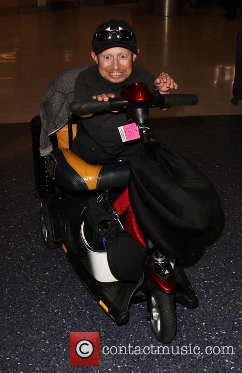Verne Troyer arrives at Los Angeles International Airport