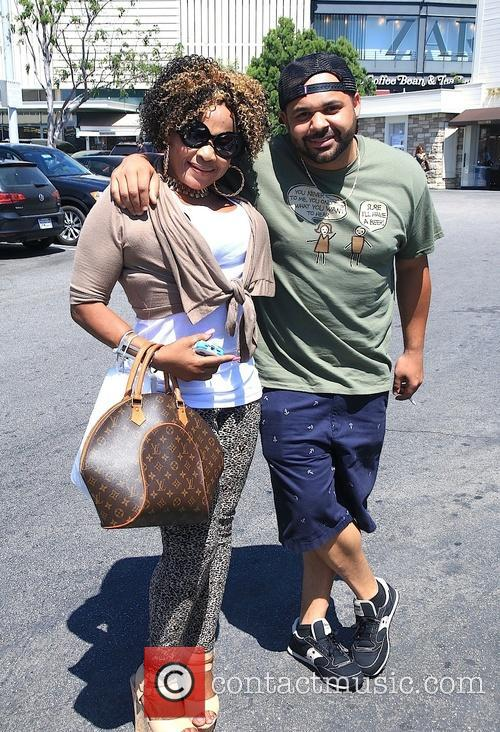 Joell Ortiz and Angela Taylor at The Grove