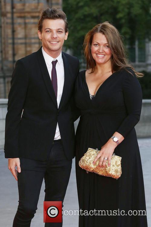 Louis Tomlinson and Mother Johannah Deakin 1