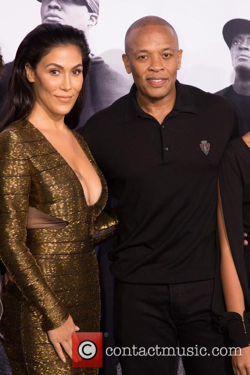Nicole Young and Dr. Dre 1