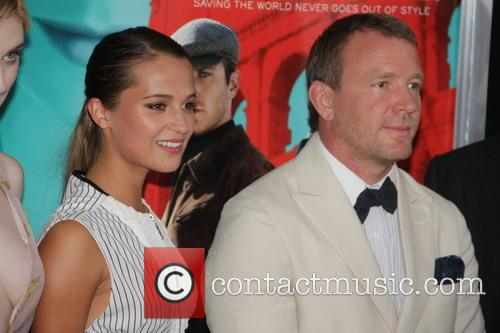 Alicia Vicander and Guy Ritchie 1