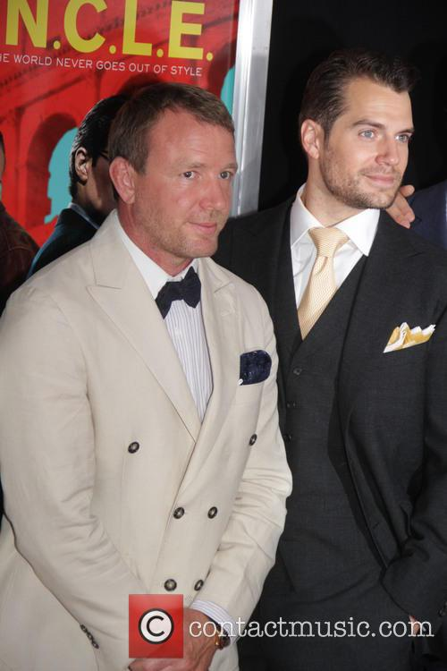 Guy Ritchie and Henny Cavill 1