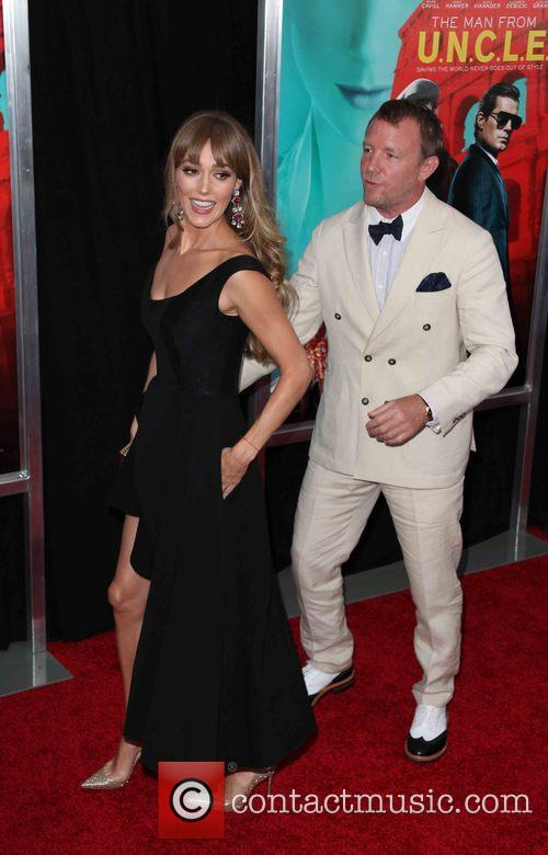 Jacqui Ainsley and Guy Ritchie 2