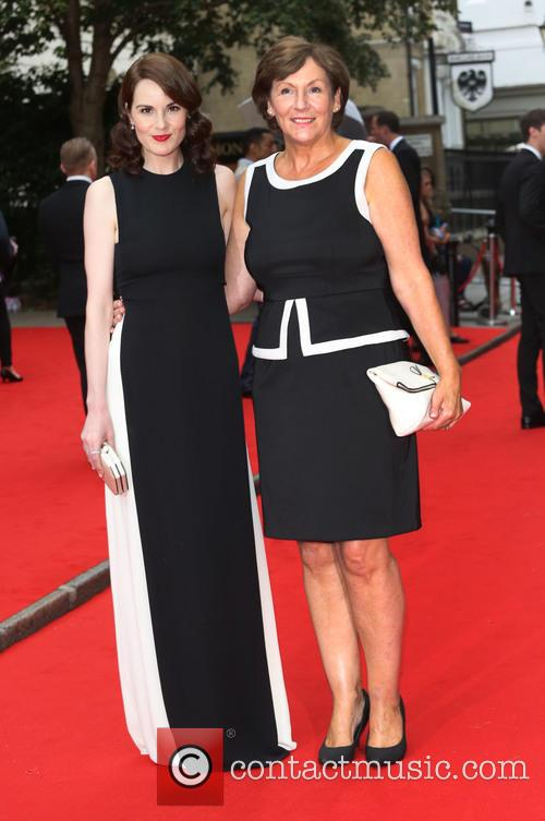 Michelle Dockery and With Her Mother 1