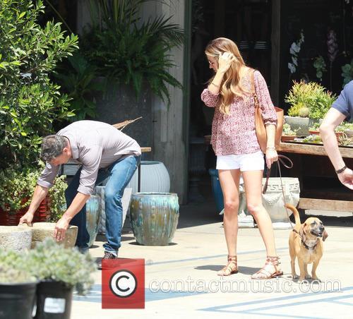 Cat Deeley, Patrick Kielty and Lily 3