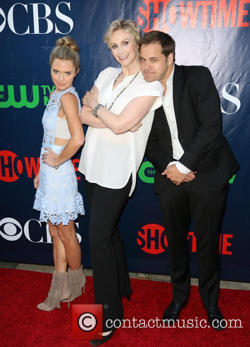 Maggie Lawson, Jane Lynch and Kyle Bornheimer 3