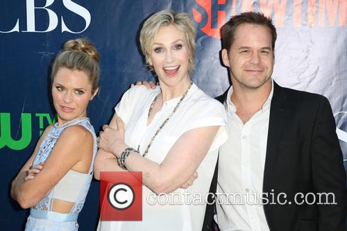 Maggie Lawson, Jane Lynch and Kyle Bornheimer 6
