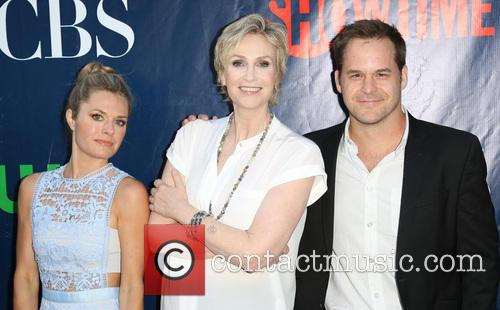 Maggie Lawson, Jane Lynch and Kyle Bornheimer 7