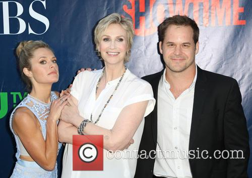 Maggie Lawson, Jane Lynch and Kyle Bornheimer 1