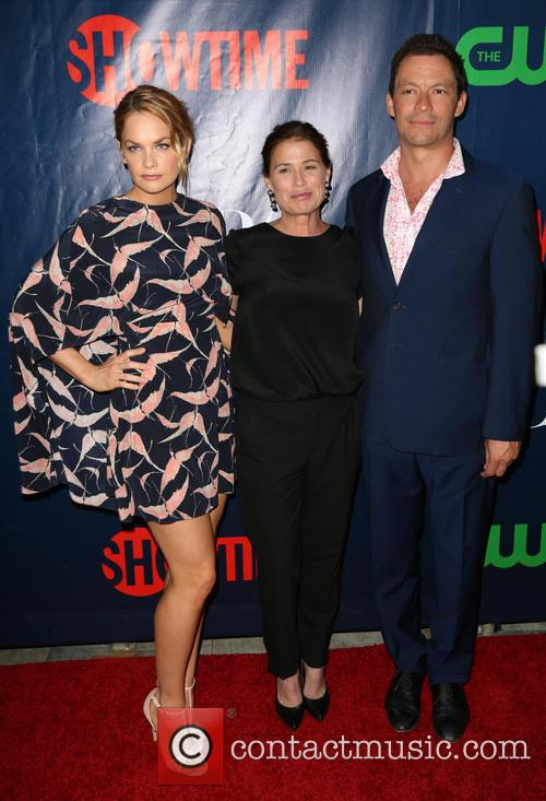 Ruth Wilson, Maura Tierney and Dominic West 3