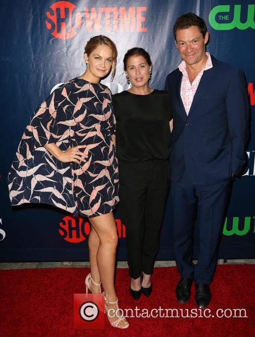 Ruth Wilson, Maura Tierney and Dominic West 1