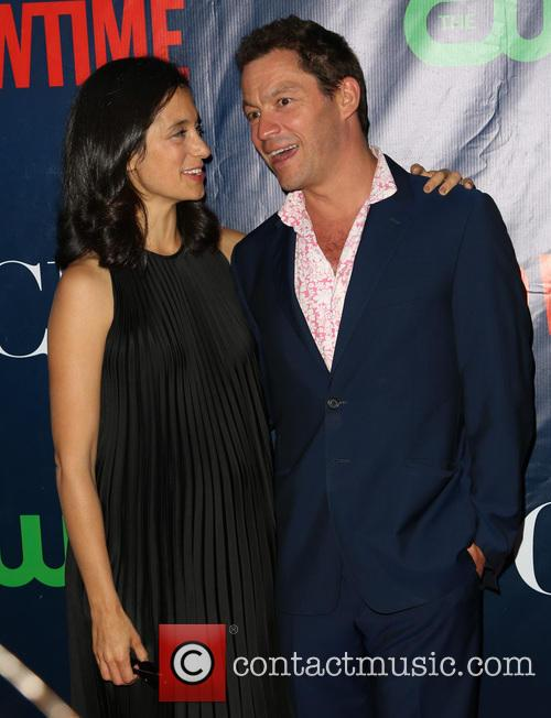 Julia Goldani Telles and Dominic West 2