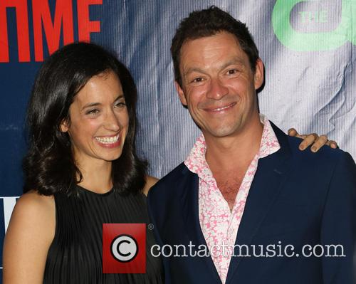 Julia Goldani Telles and Dominic West 1