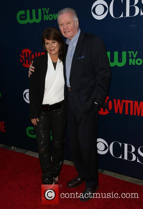 Marcia Gay Harden and Jon Voight