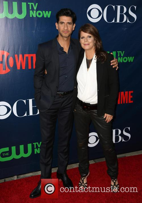 Raza Jaffrey and Marcia Gay Harden 2