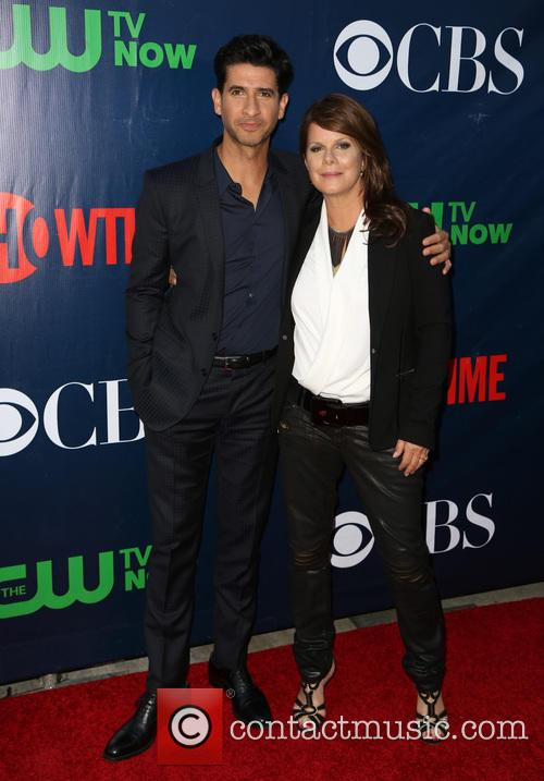 Raza Jaffrey and Marcia Gay Harden 1