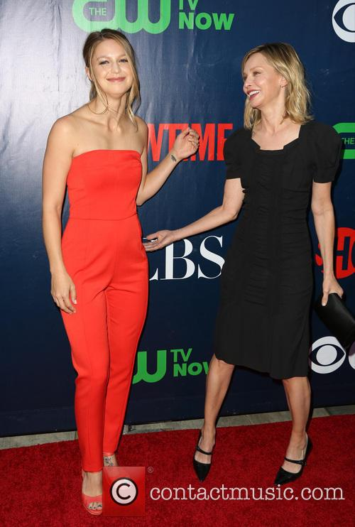Melissa Benoist and Calista Flockhart 1