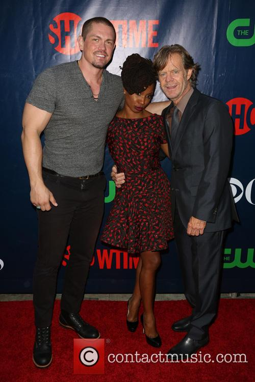 Steve Howey, Shanola Hampton and William H. Macy 1