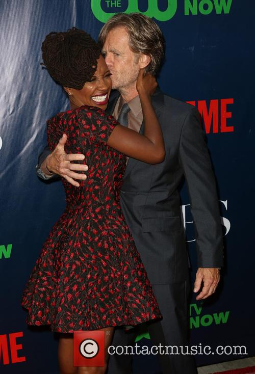 Shanola Hampton and William H. Macy 2
