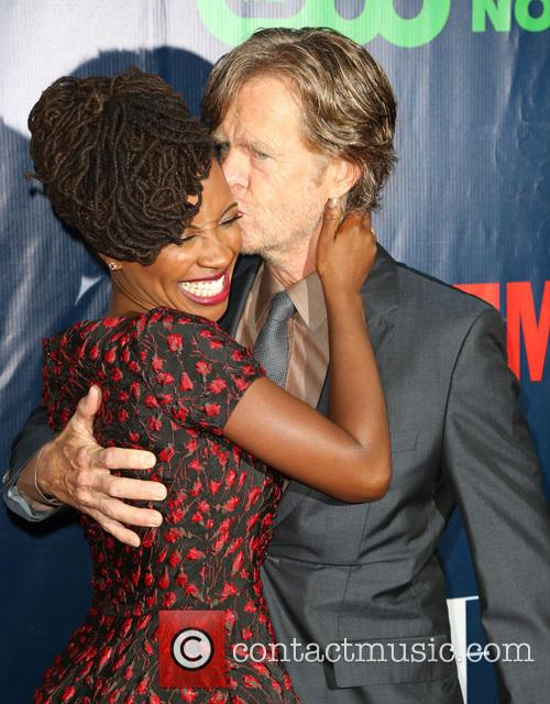 Shanola Hampton and William H. Macy 3