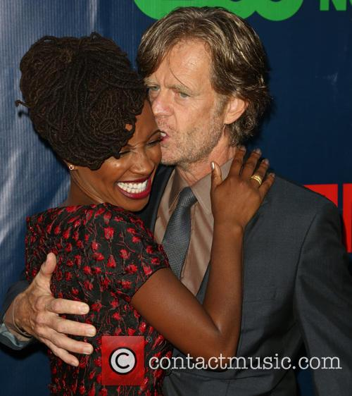 Shanola Hampton and William H. Macy 1