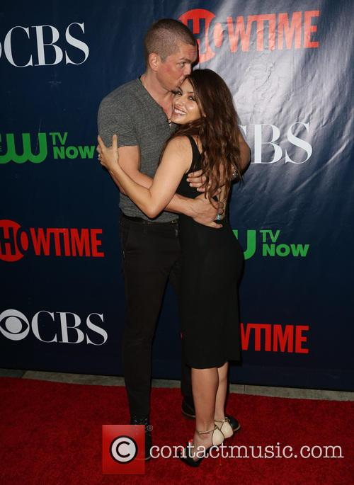 Steve Howey and Sarah Shahi 3