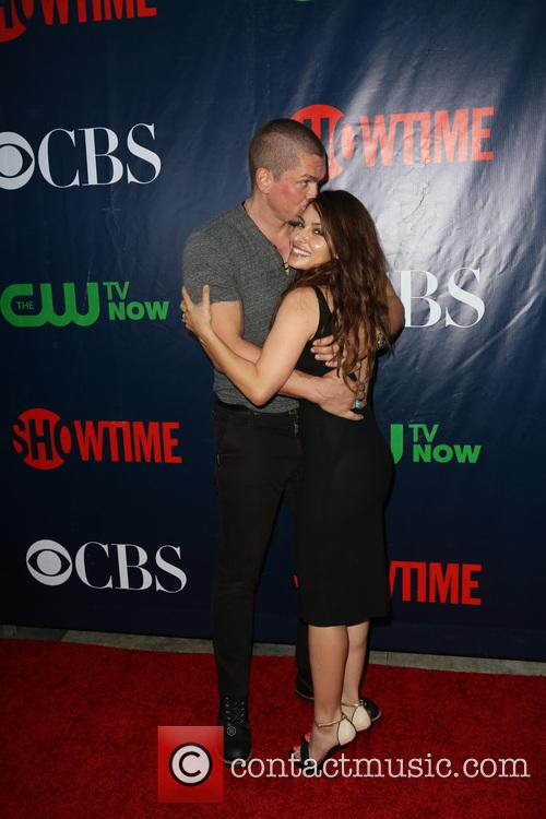Steve Howey and Sarah Shahi 4