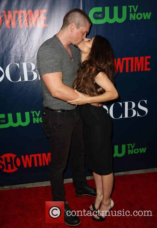 Steve Howey and Sarah Shahi 6