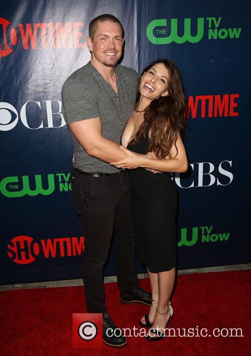 Steve Howey and Sarah Shahi 8