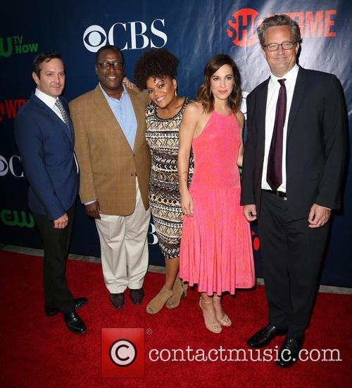 Thoman Lennon, Wendall Pierce, Yvette Nicole Brown, Lindsay Sloane and Matthew Perry 1